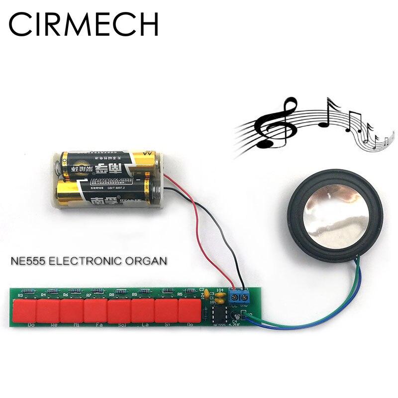 Heimautomatisierungs-sets Unterhaltungselektronik Cirmech Diy Kit Ne555 Elektronische Klavier Intelligente Elektronische Elektronische Orgel Diy Suite Elegant Und Anmutig