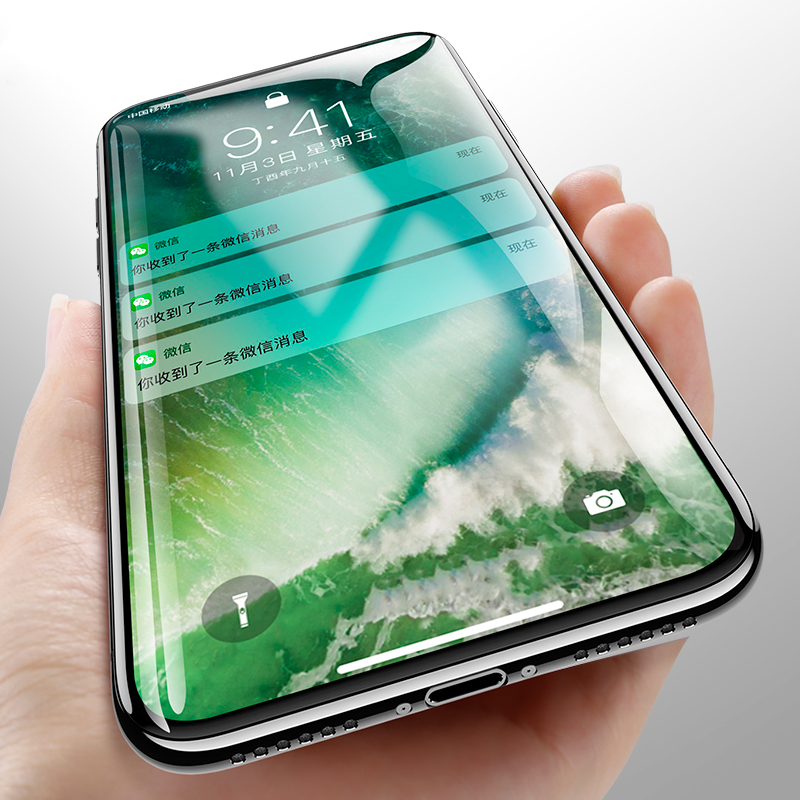 Best Quality Real 5D Curved edge Full Cover 9H Tempered