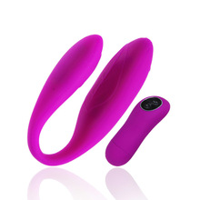Pretty Love Double Dophin Recharge 30 Speeds Wireless Remote G Spot Clitoris Vibrator We Design Vibe 4 Adult Sex Toy For Couples