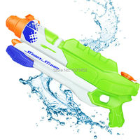 High Shooting Power Large Capacity Far Range Pistols Water Gun Sumer Beach Plastic Toy Gun Children