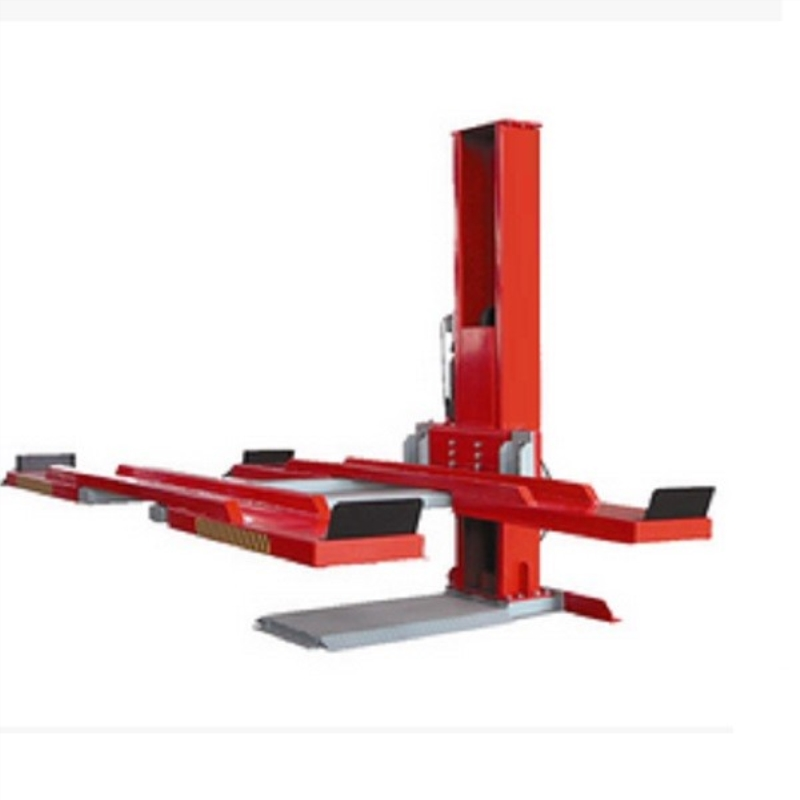 Hydraulic One Cylinder Single Post Car Lift Price For Car