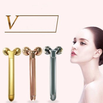 Face Slimming Beauty Bar Electric Roller Massager 3D Roller Face Lifting Body Shape Massager Women Beauty Tool Face Skin Care Machine