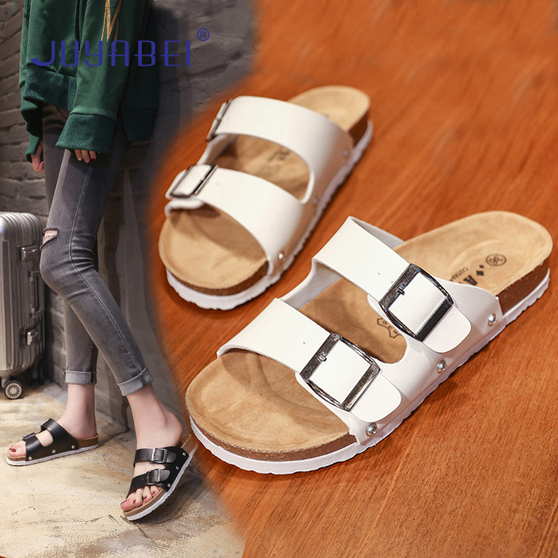 2019 Summer Breathable Korean Casual Nurse Beautician Flat Slippers Hospital Laboratory Clinic Dental Oral Work Slippers Ladies