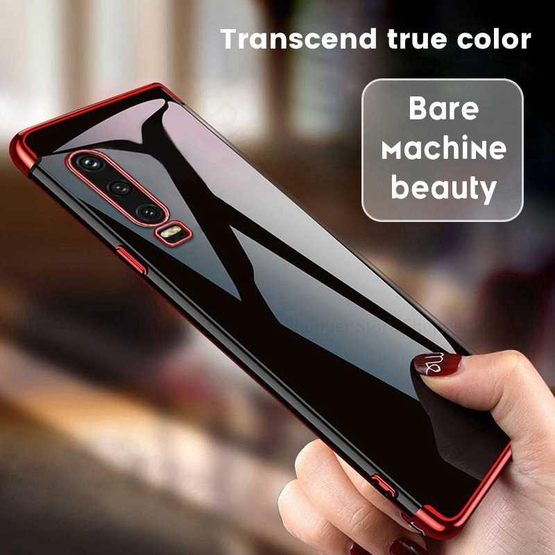 Soft Electroplate Case For Huawei P30 P20 Pro P10 Lite P8 P9 Lite 2017 P Smart Z Plus 2019 Cover For Huawei P30 P9 Lite 2016 Bag