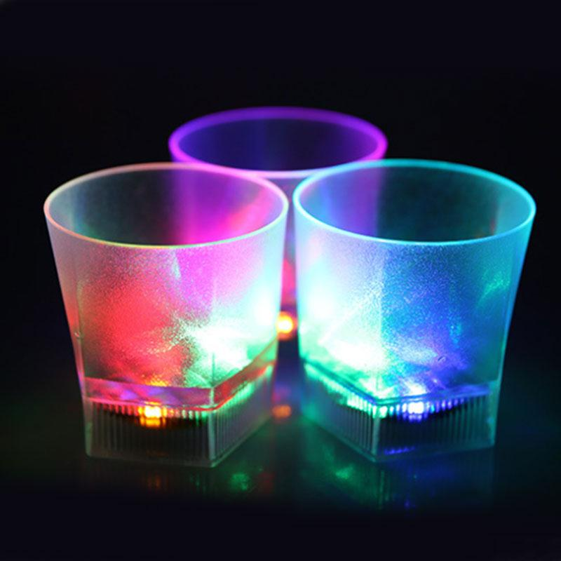 LED Water Sensor Flash Lighting Battery Drink Beer...