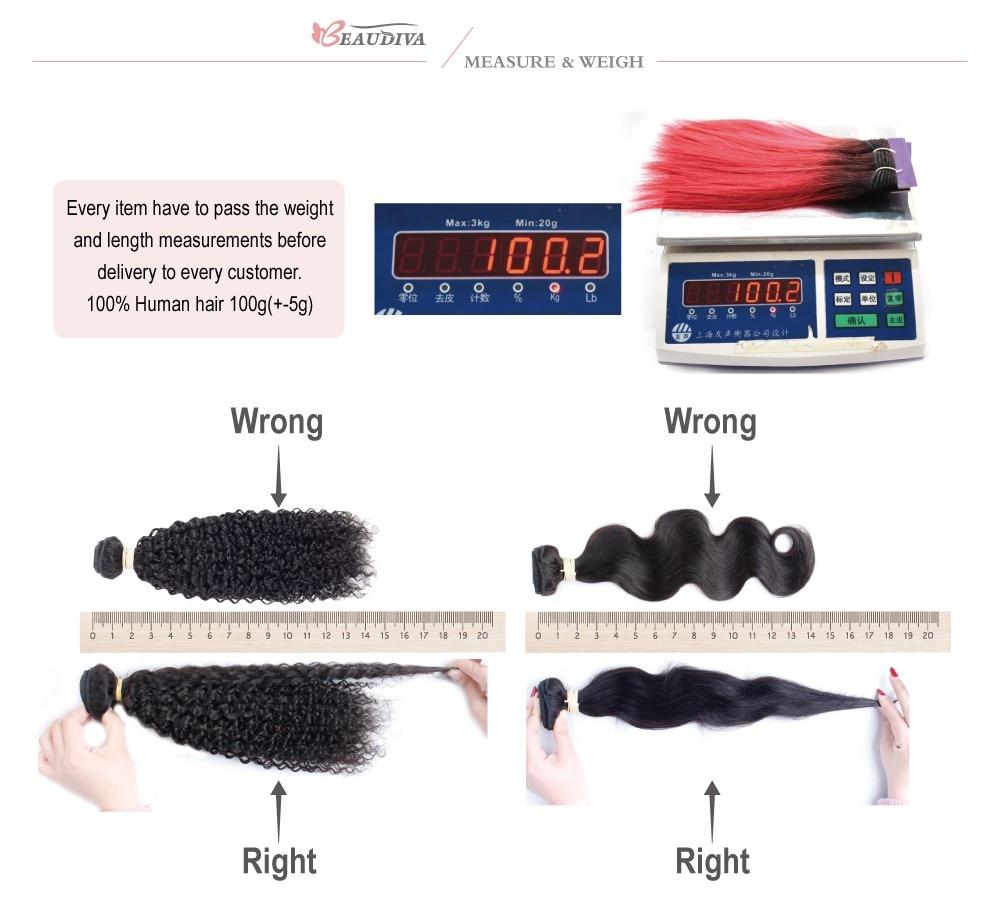 Beaudiva Hair Extension 100% Human Hair 20