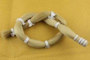 250 g pelo de caballo Cola de Caballo violín arcos pelo a granel caballo mongol