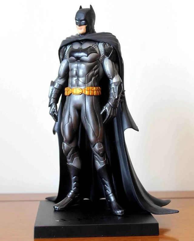 Figura Justice League Batman ARTFX + Estátua X MEN Bruce Wayne Arma X Homem De Ferro Action Figure Modelo Coleção Toy