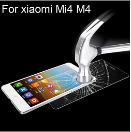 Xiaomi mi4 m4 Premium Tempered Toughened Glass screen protector film repair parts free shipping