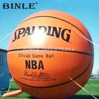 Custom oxford giant inflatable basketball balloon new promotional items sport ball model replica for advertising