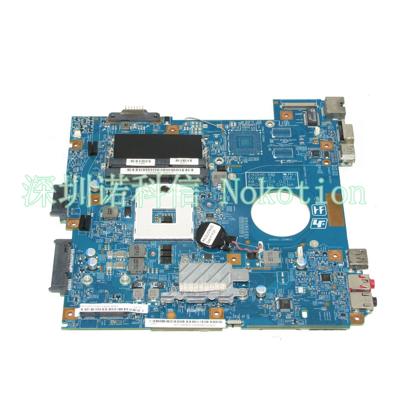 NOKOTION A1829659A MBX-250 48.4MP06.021 Laptop motherboard for VPCEG SERIES VPCEG25FX EG16F PCG-61A14L Mainboard works mbx 224 m960 laptop motherboard suitable for sony vpceb notebook pc mainboard a1771575a a1771577a hm55 available new