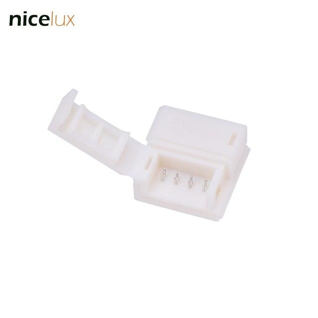 10pcs lot 4 pin quick connector for rgb 5050 5630 10mm ip65 rh aliexpress com