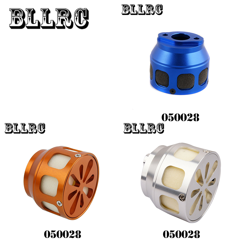 Free shipping RC car 1/5 HSP 050028 Aluminum Air Filter Blue 1:5 RC Nitro Car Buggy Truck  Aluminum alloy air filter 1 8 aluminum alloy fuel filter for hsp 80118 golden