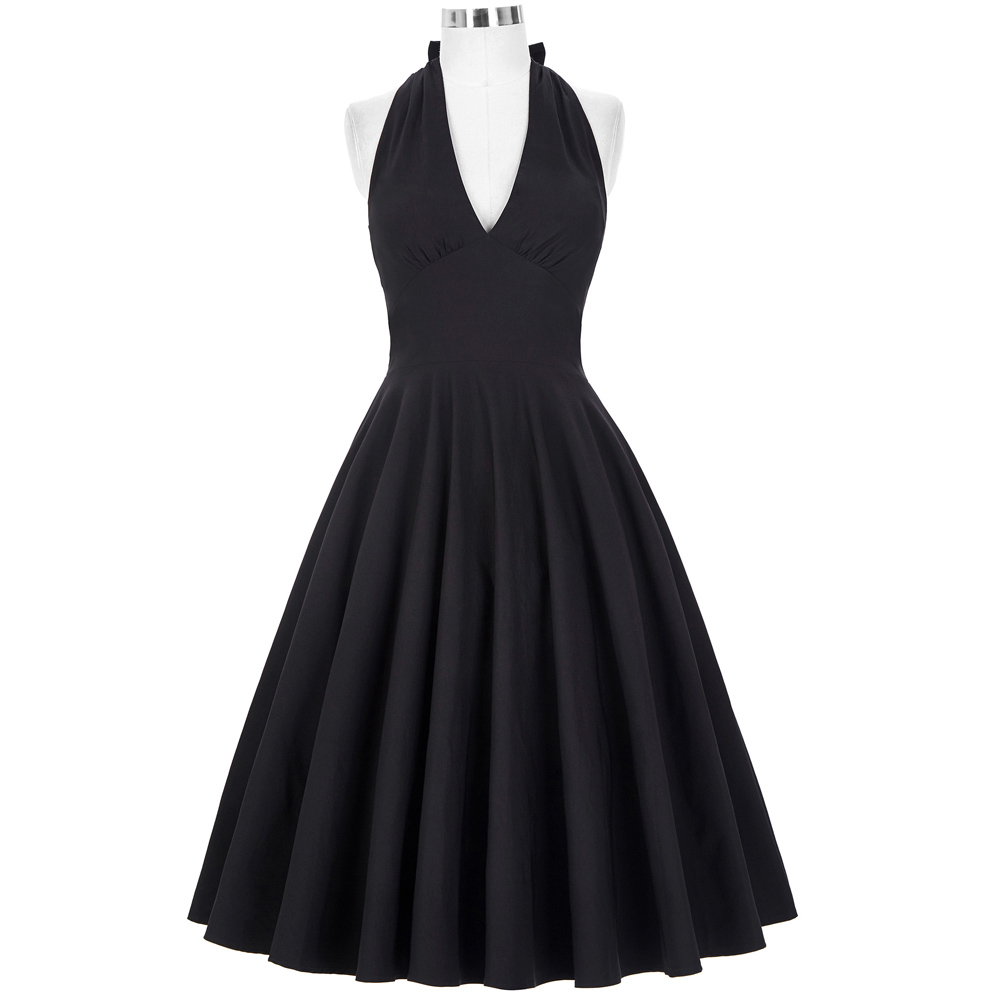 Belle Poque Sexy Club Dress 50s Vintage Swing Women Summer Pinup ...