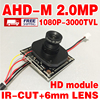 2 0MegaPixel Adhm V30E GC2023 1920 1080p 3000tvl Finished HD Monitor Mini Camara Chip Module 12