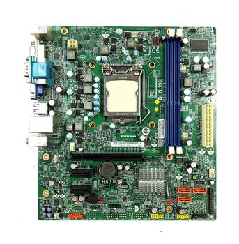 Original disassemble, for Lenovo H61 motherboard original disassemble IH61M V: 1.0 1155 pin CPU with baffle,100% tested good фото