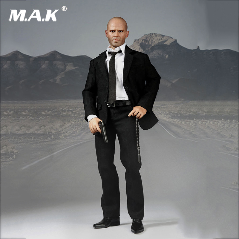 1/6 Scale Jason Statham Suits Head body Clothes Set Action Figure for Collections поло rps футболка поло