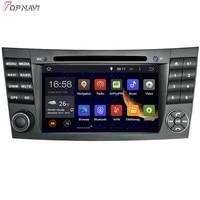 TOPNAVI 7'' Octa Core 4GB Android 6.0 Car Radio Stereo GPS for Benz W211 2002 2003 2004 2005 2006 2007 2008 2009/Iran 2003 2011