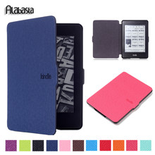 Popular kindle paperwhite buy cheap kindle paperwhite lots from alabasta case for fundas kindle paperwhite 1 2 3 cover 6 inch leather smart case magnetic wake up sleep ebook proof shell stylus fandeluxe Images