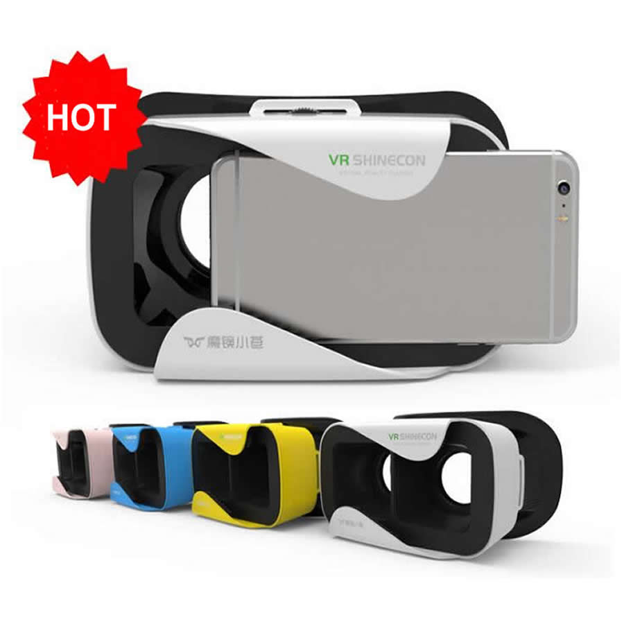 Google cardboard 3D Glasses 4 Colors font b VR b font Virtual Reality Head Mount 3D