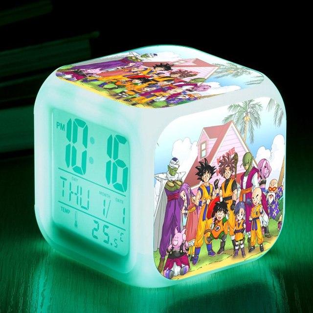 8 cm DRAGON BALL Z Brinquedos Novidade LEVOU Alarme bloqueio Elctric CLuminous Super Saiyan Goku Figuras de Ano Novo de Aniversário presentes para As Crianças