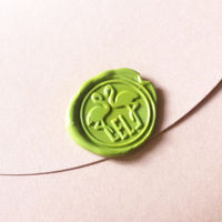 Custom Flamingo Initials Wax Seal Stamp Personalize Wedding Invitation Wax Seal