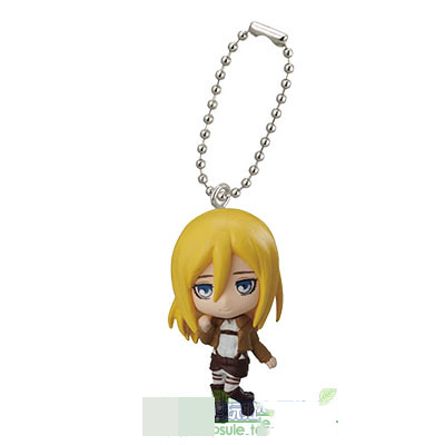 Attack on Titan swing collection 2 capsule Key-chain