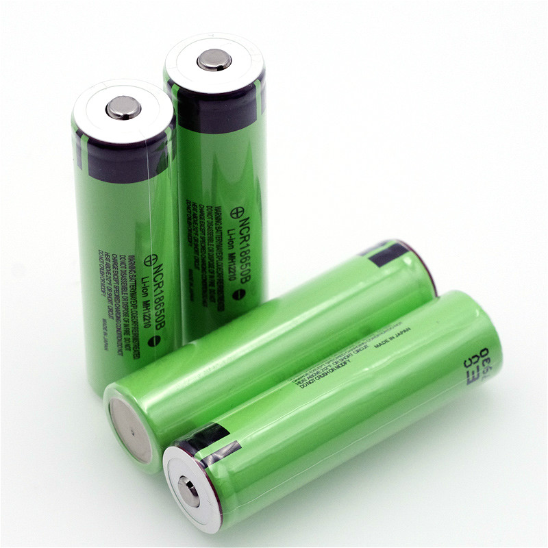 Image 3 - VariCore Original 18650 3.7 v 3400 mah Lithium Rechargeable Battery NCR18650B with Pointed(No PCB) For flashlight batteries-in Replacement Batteries from Consumer Electronics