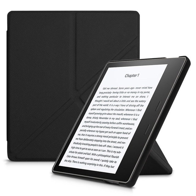 Origami stand cover case for 2017 Amazon kindle oasis 2 e-reader for New  Kindle Oasis 7 0