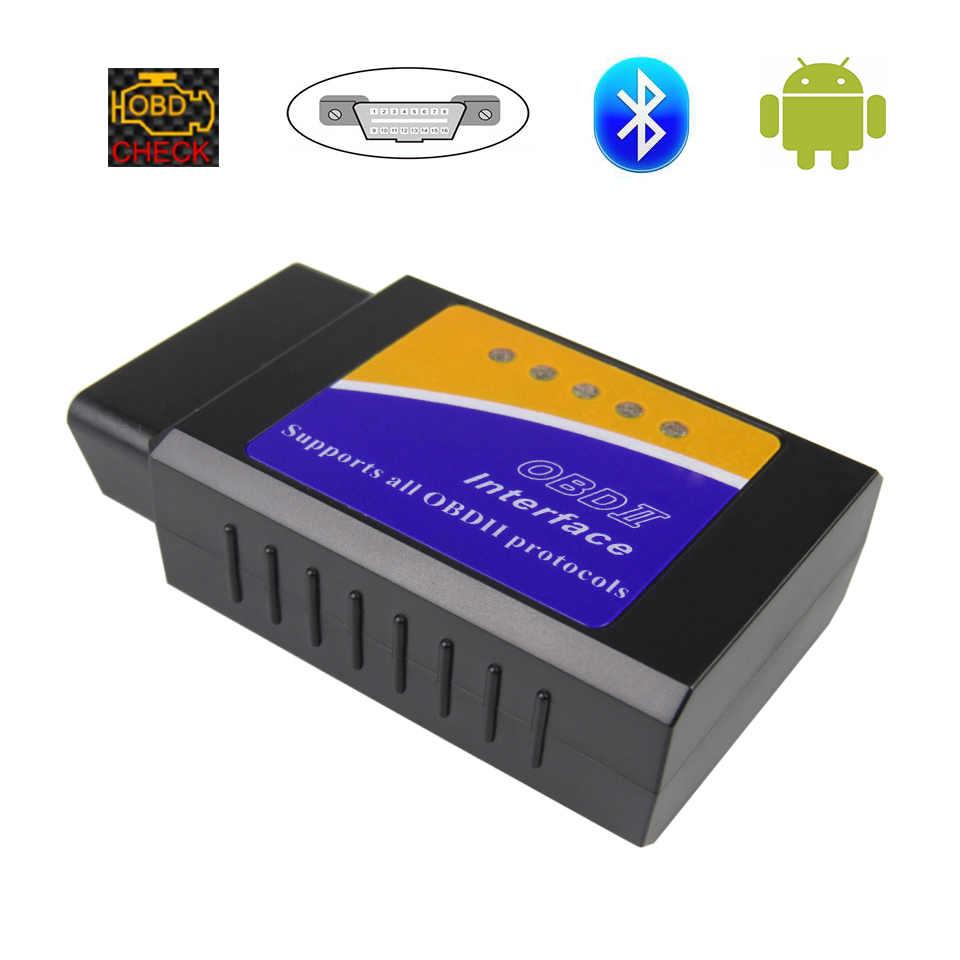 Super Mini ELM327 Bluetooth V1.5 Obd2 ULME 327 v 1,5 Auto Diagnose-Scanner für Android Ulme-327 OBDII Obd 2 Code Diagnose Werkzeug