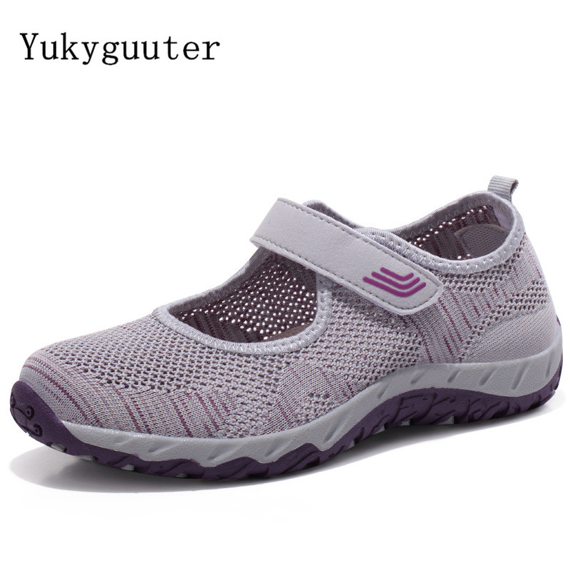 Hiking Shoes Boots Outdoor Sports Summer Women Sneakers Breathable Female title=