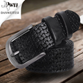 [DWTS] Belts For Men Designer High Quality Luxury Brand Genuine Leather Pin Buckle Casual Business Mens Belt cintos para homens