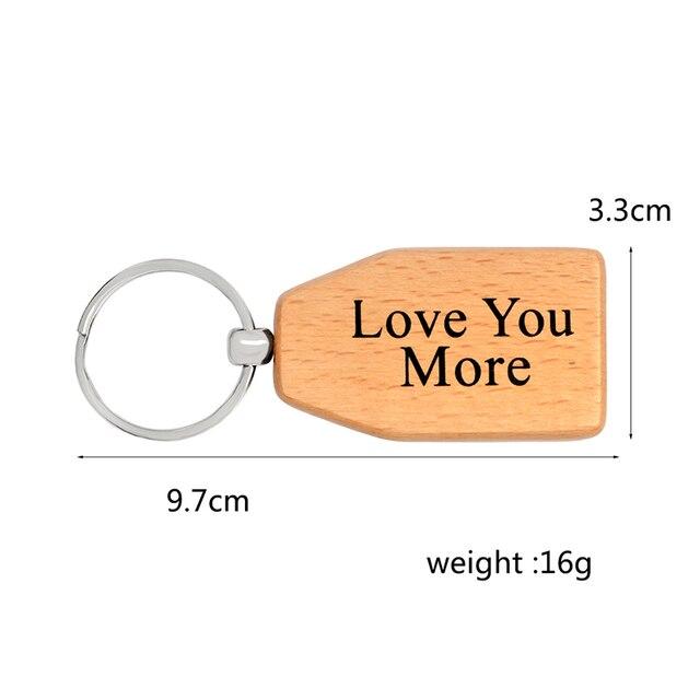 Best Family Ever keychain Mom Dad Nana Gigi Mimi Papa Grandma Girlfriend Boyfriend Love you more Key Chain Jewelry Gift