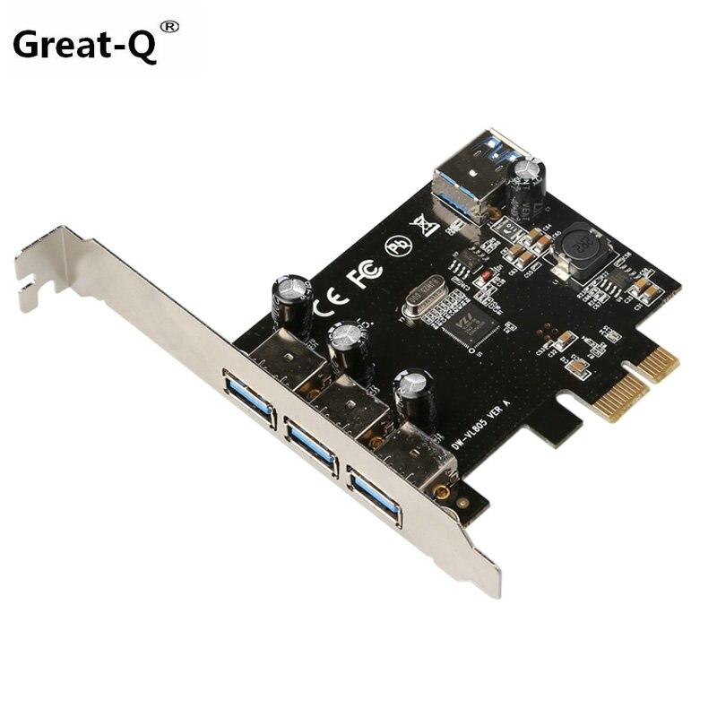Great-Q SuperSpeed 2 puertos USB 3.0 19-pin USB3.0 PCI-E PCI - Componentes informáticos - foto 3