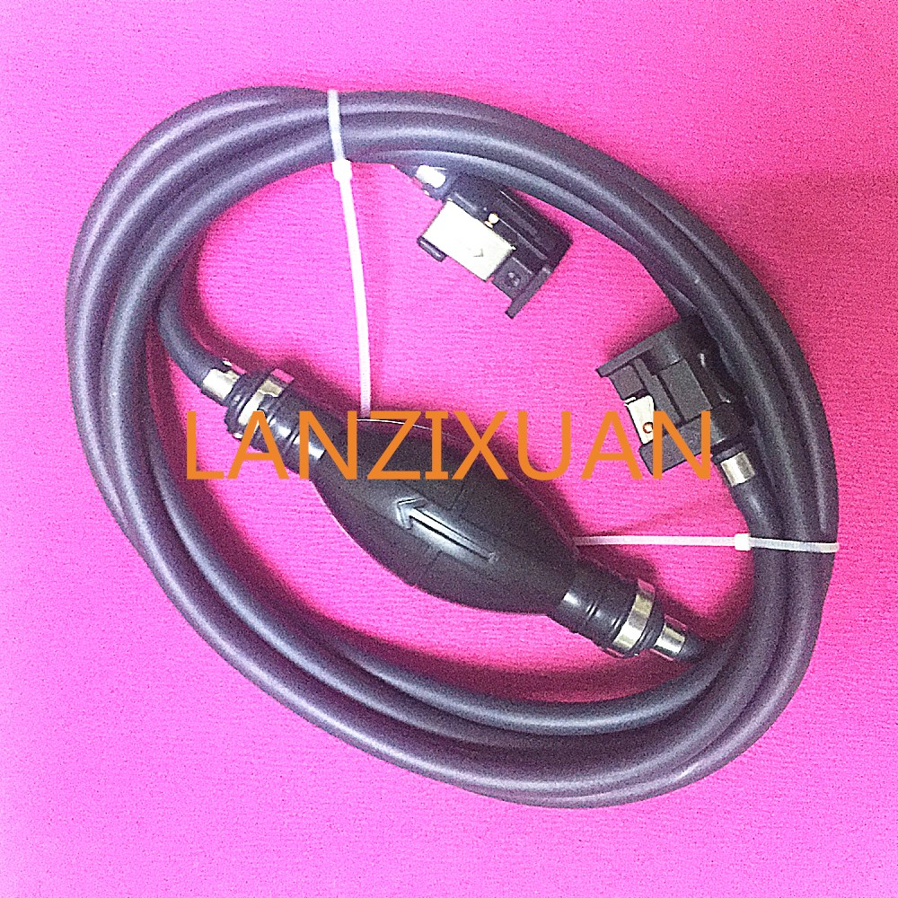 Boat Motor Fuel Line Hose with connector and Primer assy for Yamaha Outboard Motors , 6mm 6Y2-24306-55-00 6Y2-24306-56-00 pipe