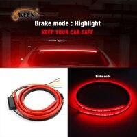 OKEEN Car Styling Red Flowing Flashing Auto Led Additional Brake Light Strip 100cm The Third Brake Light Turn Signal Stop Lamp