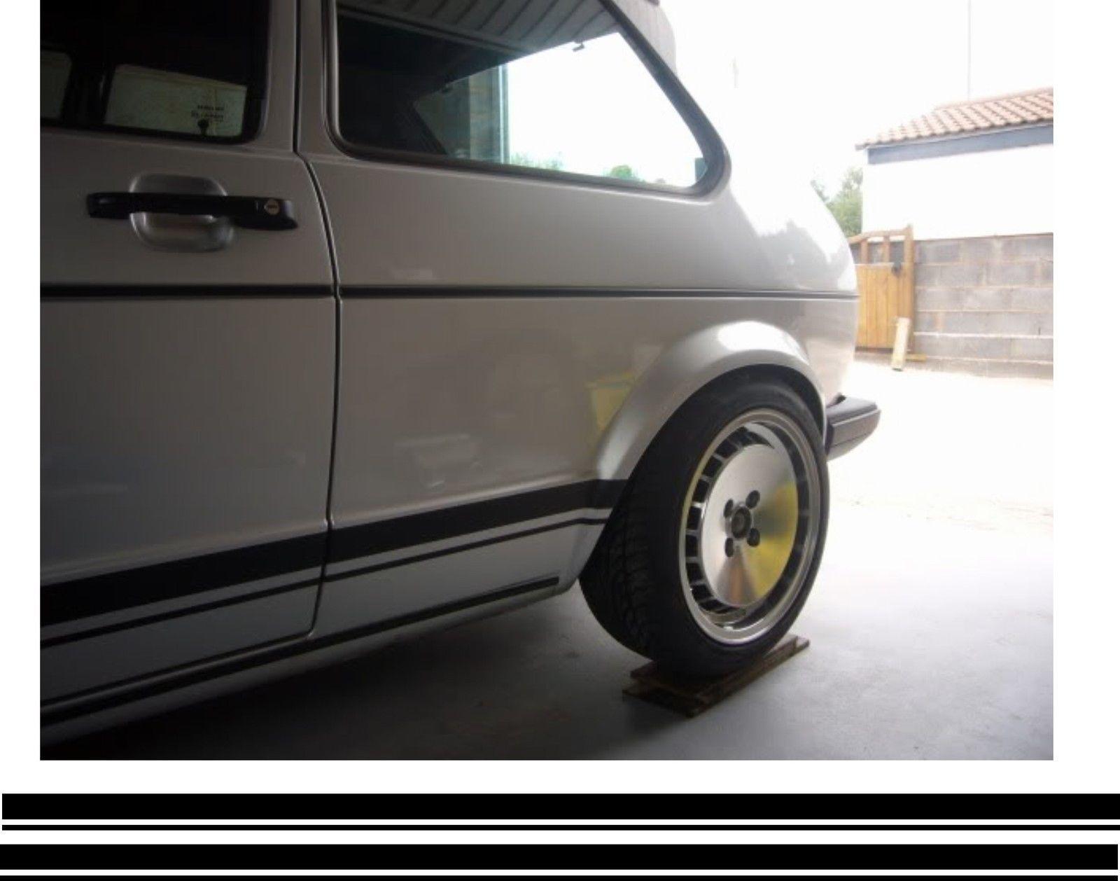 1950-1979 Volkswagen Bus Beetle Ghia Set of 4 Brake Shoe Adjusting Star Wheels