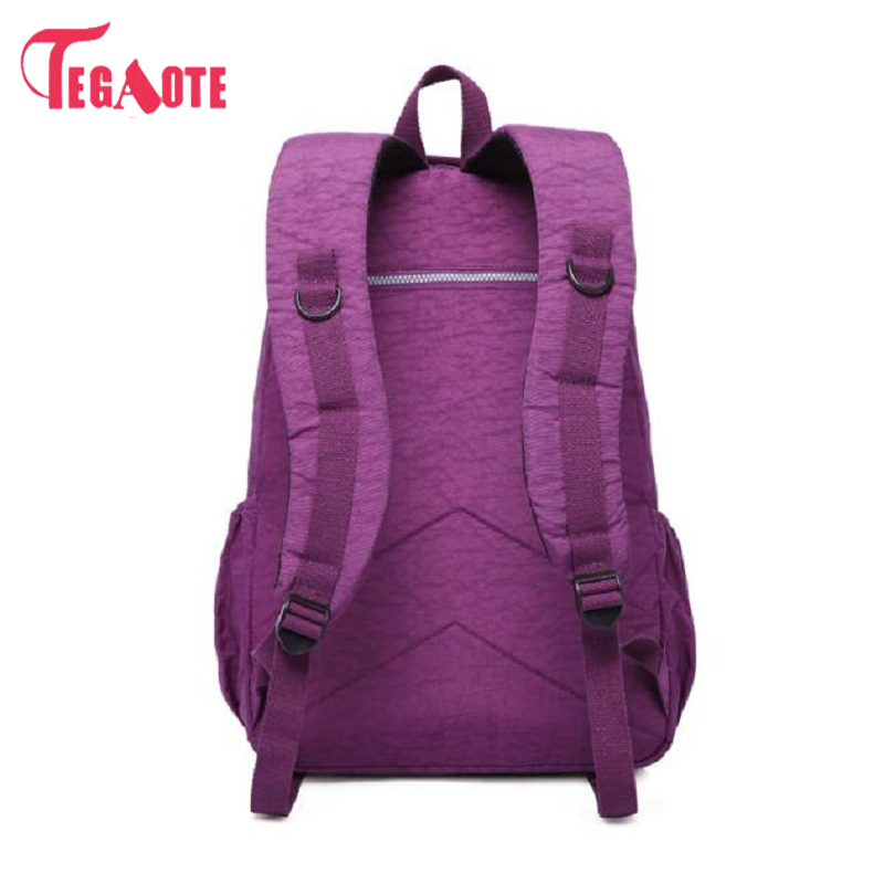 Nuovo Black Mochila Sac Blue purple Femminile Blue Per arm Scuola old Zaino Green Bagpack red Feminina Impermeabile sky Zaini dark gray Casual wine Red Donne Girl khaki coffee Purple Della light Nylon Red Red In Teenage Laptop purple UwTUYrq