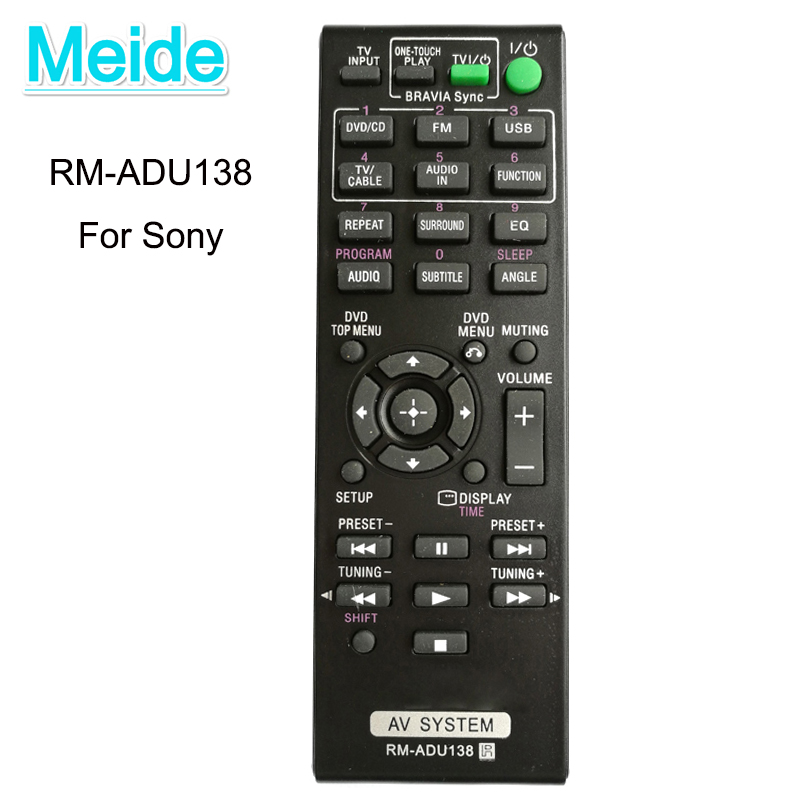 New Replacement Generic Remote Control RM-ADU138 For Sony 148931811 DAVTZ140 Home Theater System Controle Remoto Controller