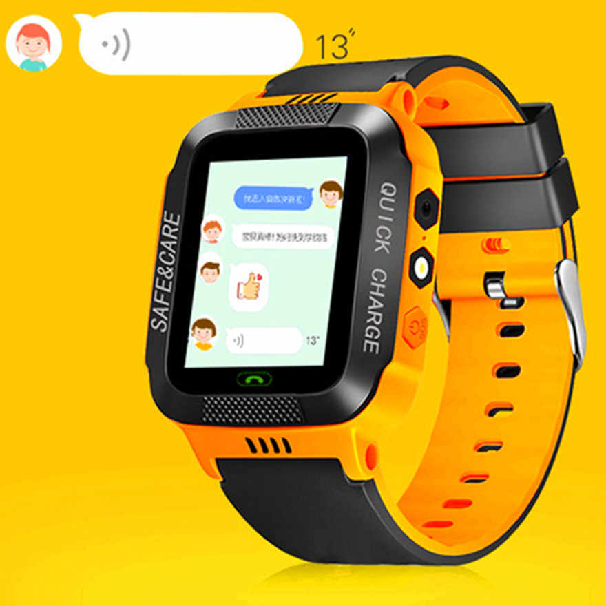 Kids Smart Watch Touch Screen Wristwatch Alarm Baby Watch With Camera SIM GPS Remote Monitoring Birthday Gifts For Kids Dec10