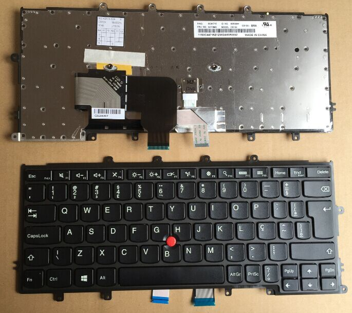 Подробнее о New Laptop keyboard for LENOVO Thinkpad X230S X240 X250 FRU:04Y0942 BR/Brazil  layout new english laptop keyboard for thinkpad e570 us keyboard replacement fru 01ax160