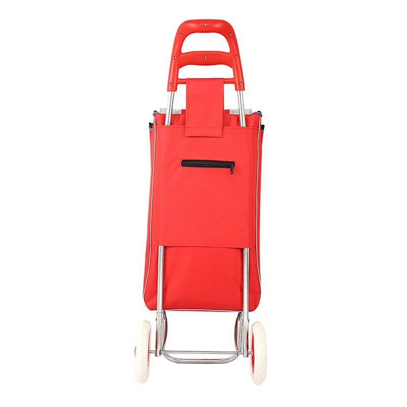 Портативная Складная багажная тележка для покупки сумка на колесиках для пожилых людей хозяйственная Тележка для покупок тележка для скалолазания портативная