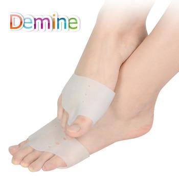 Demine Silicone Hallux Valgus Orthotics Insoles Toe Separator Insole Correction Cushion Forefoot Care Pad Shoe Cushion Insert