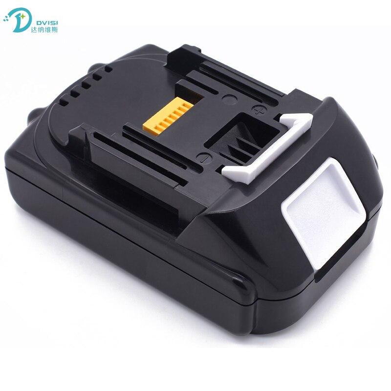 Batterie Rechargeable Lithium-ion DCISI 14.4 V 3000 mAh pour MAKITA BL1430 BL1415 BL1440 194066-1 194065-3 outil électrique