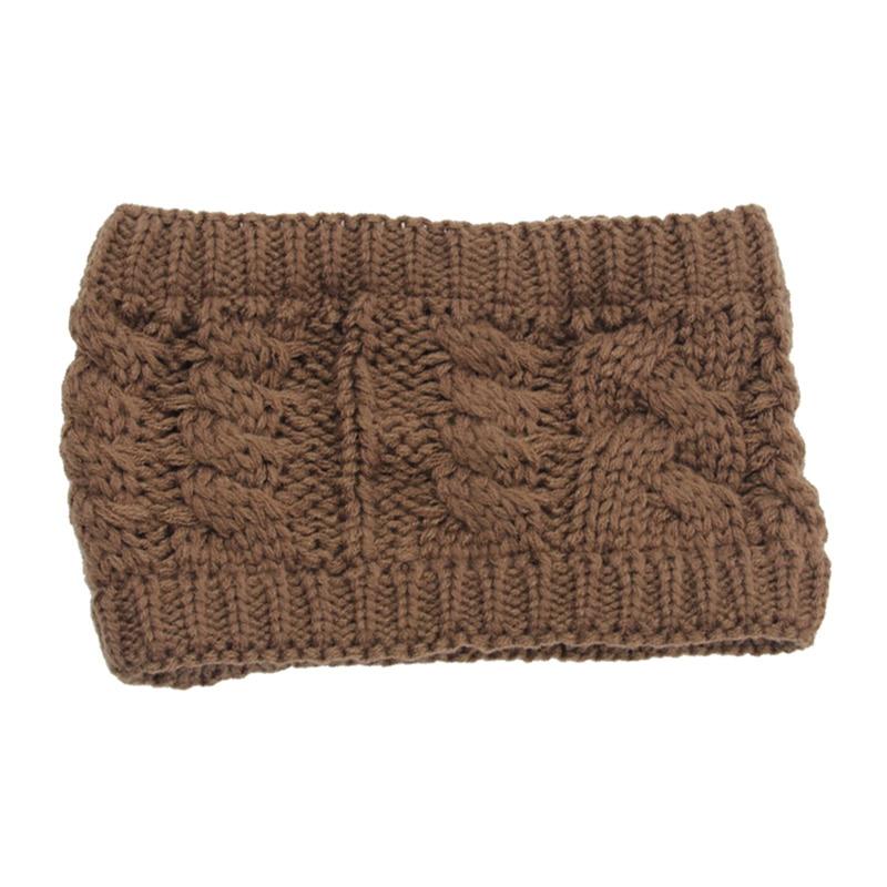 Women Winter Warm Messy Bun Ponytail Beanie Holey 2018 Brand New Girls Warmer Knitted Stretch Autumn Turban Cap Casquette CP0164 (10)