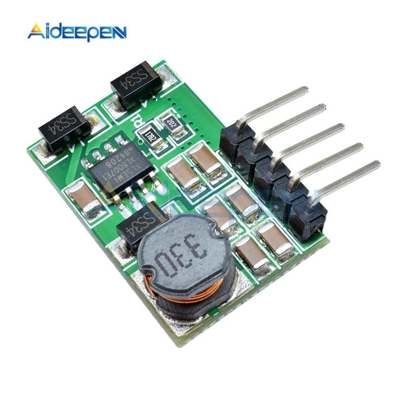 3 V-18 V to+-5V 6V 9V 12V 15V 24V 1.8A 2A положительный и отрицательный двойной Вт конвертер постоянного/переменного тока, повышающий наддува модуль Плата регулятора - Цвет: 12v with pin