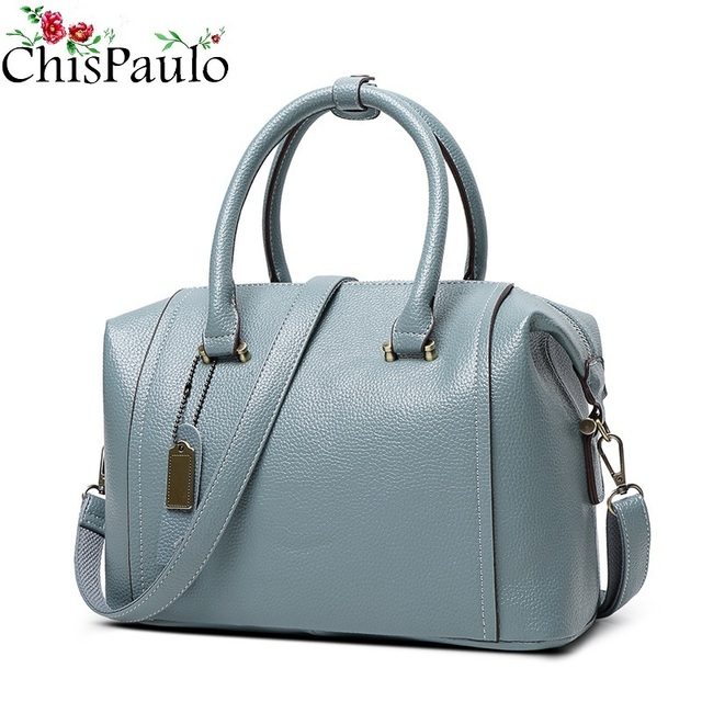 91da14578150 CHISPAULO Woman Bag 2017 Designer Handbags High Quality Cowhide Women  Genuine Leather Handbags Fashion Women s Shoulder