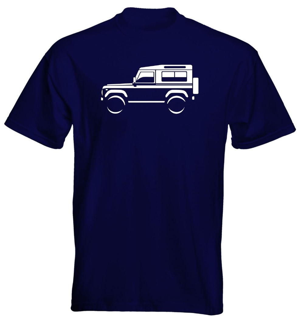 Fashion Funny Tops Tees Mens Premium T-Shirt Land Rover Defender 90 Colour Options UK Seller Novelty Tee Free Shipping