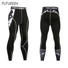 Новинка, штаны для велоспорта, мужские компрессионные штаны с 3D принтом, быстросохнущие обтягивающие леггинсы, трико для фитнеса, штаны для ММА, сшитые штаны