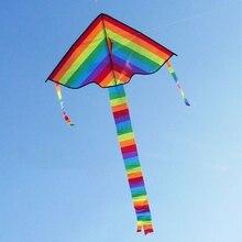 Длинный хвост Радужный воздушный змей на открытом воздухе воздушные змеи летающие игрушки воздушный змей для детей Дети 'lirunzu